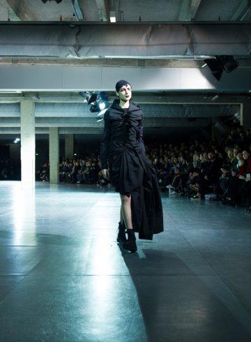 Yohji Yamamoto Fall 2017 Fashion Show Atmosphere