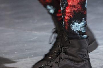 Yohji Yamamoto Fall 2017 Fashion Show Details