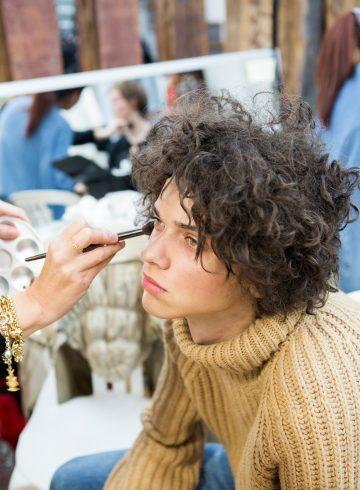 Yohji Yamamoto Fall 2017 Men's Backstage
