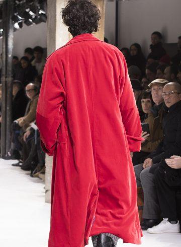 Yohji Yamamoto Fall 2017 Men's Details
