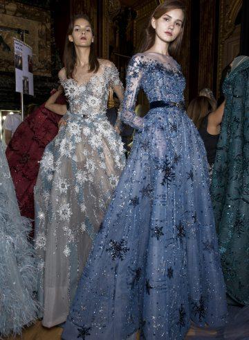 Ziad Nakad Fall 2017 Couture Fashion Show Backstage