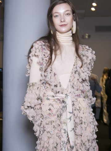 Zimmermann Fall 2017 Fashion Show Backstage